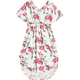 Roxy Flamingo Shades Kleid Damen snow white tropic call